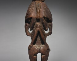 32. charm figure, ramu river, lower sepik, papua new guinea