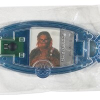 170. star wars power of the force chewbacca 'generation 2' commtech chip, date unknown