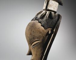 """56. masque par le """"maître de bouaflé"""", guro, côte d'ivoire"""