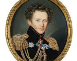 317. pietro de rossi | portrait of countalexei fyodorovichorlov, later prince orlov(1786-1861)