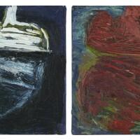 11. amy sillman (b. 1955) | untitled, 1984