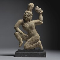 3. a rare sandstone relief fragment of an apsara northern wei dynasty |