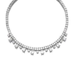 44. 鑽石項鏈