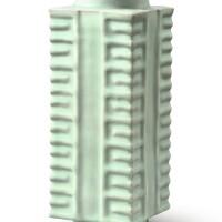 3009. a rare 'longquan' celadon vase, cong southern song dynasty
