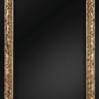 7. cadre en bois doré et rechampi polychrome d'époque louis xiii, vers 1630