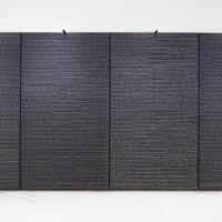 148. jesús rafael soto | gran vibración azul y negra