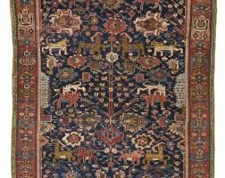12. the bechirian 'animal and tree' rug, azerbaijan |