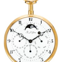 65. françois-louis godon, paris   a highly unusual goldcoach watchwatchwith full calendar,age and phase of the moon circa 1790