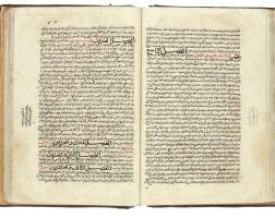 12. abu 'ali al-husayn ibn 'abdullah ibn al-hasan ibn 'ali ibn sina, known as avicenna (d.1037 ad), kitab qanun fi'l tibb ('the canon of medicine'), volumes i and ii, copied by abdulaziz ibn abdulhamid ibn uthman, persia, tabriz, ilkhanid, dated 667 ah/1268-69 ad |