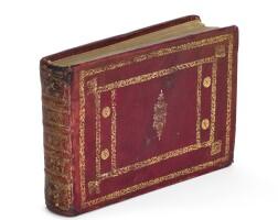 2. belon, la nature & diversité des poissons, paris, 1555, old red goatskin gilt