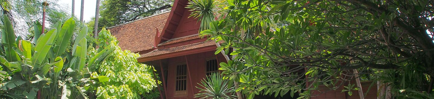 Exterior view of Jim Thompson House.