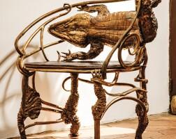 8. claude lalanne | fauteuil crocodile