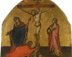 103. niccolò di pietro gerini | christ on the cross with the madonna, saint john and mary magdalene