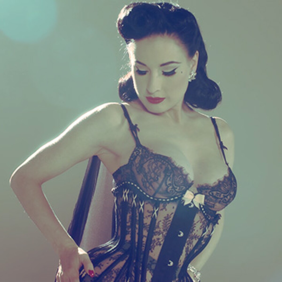 Andrew Blake Dita Von Teese dita von teese on erotica, her favourite artists and her