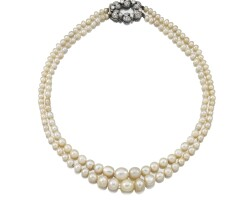474. gem set and diamond necklace, one imitation pearl