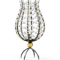 1. andré dubreuil | perles candle holder, circa 1988