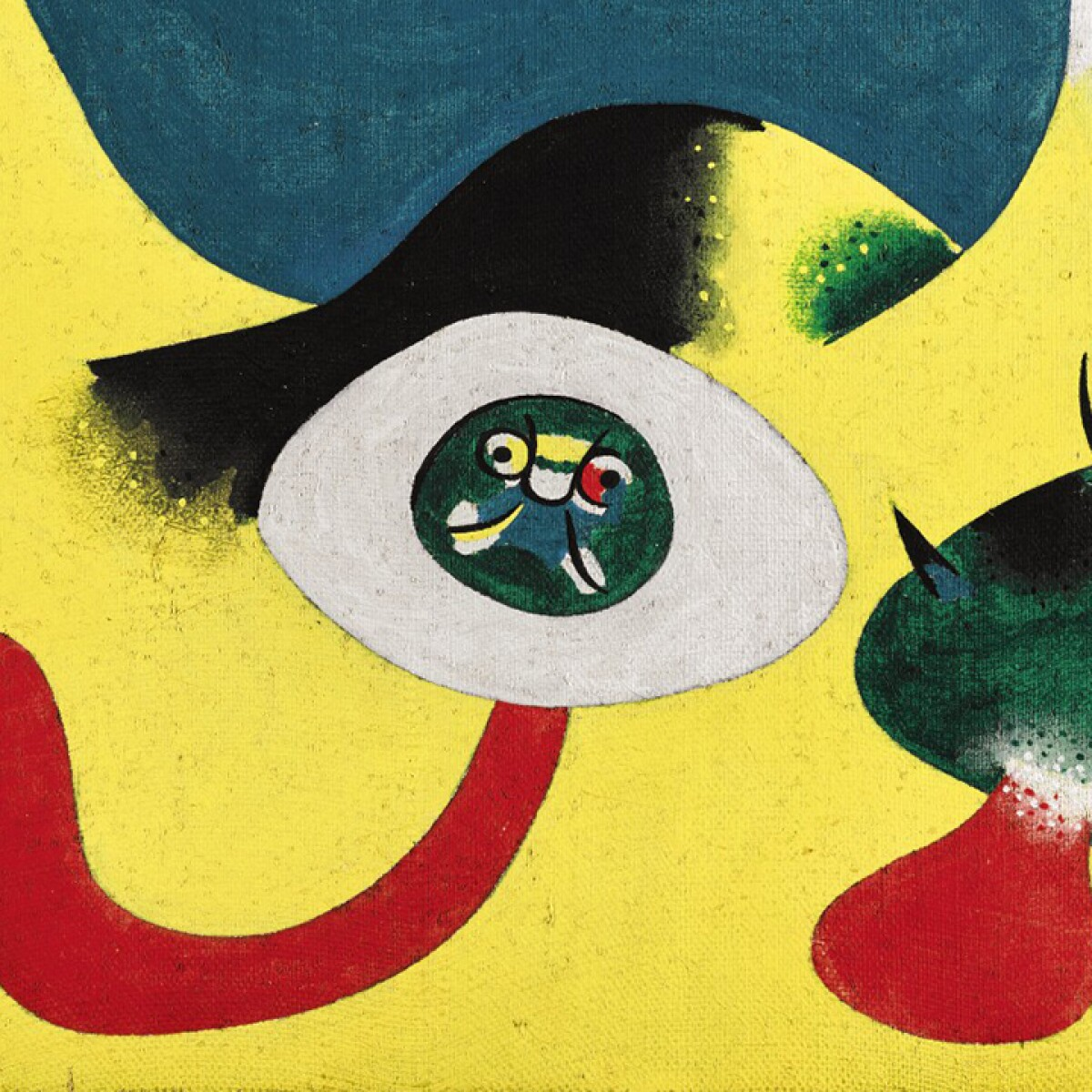Joan Miró's Playful Creatures and Political Themes