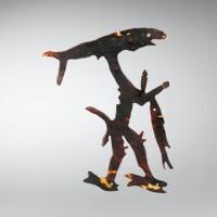 20. figurine en écaille de tortue,san cristobal, îles salomon