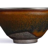 3114. a 'jian' 'hare's fur' 'temmoku' tea bowl southern song dynasty |