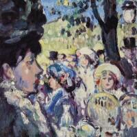 12. john duncan fergusson, r.b.a. | the open air fête, armenonville
