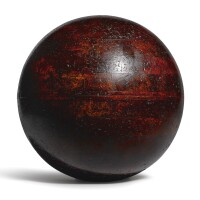 3011. a large woodmould for the construction of globes circa 1900 |