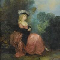 495. attributed to jean-frédéric schall strasbourg1752 - 1825paris