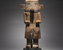 9. a hopi polychromed wood kachina figure |