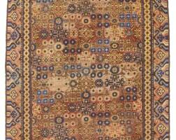 2. a khotan long rug, east turkestan