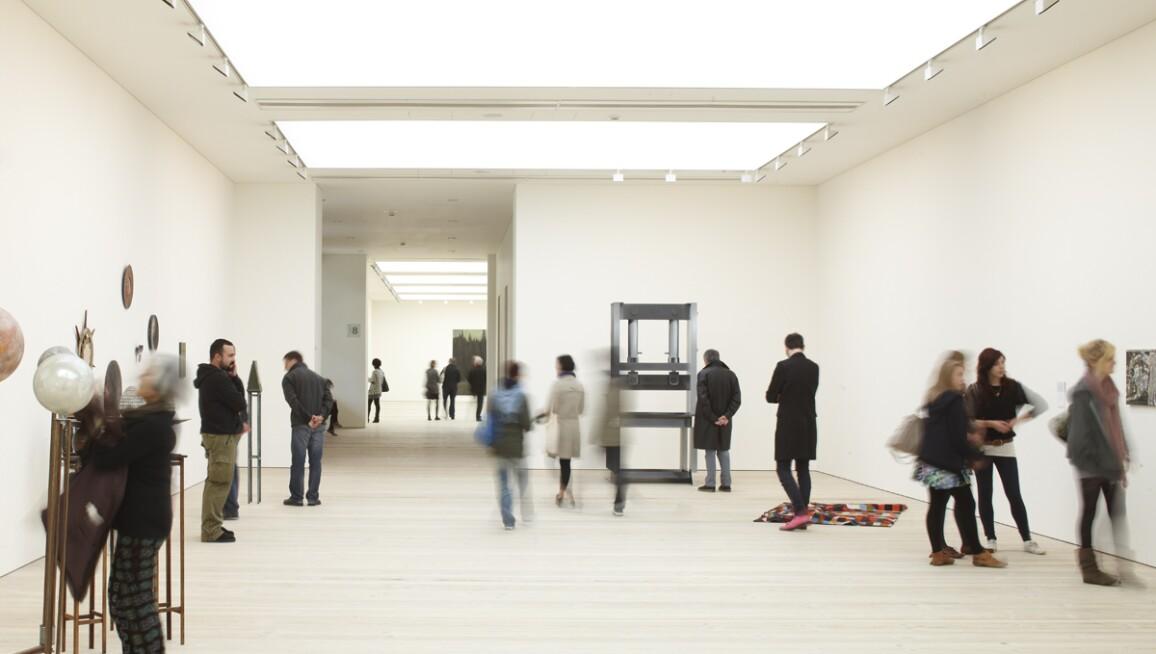 Gallery view, Saatchi Gallery