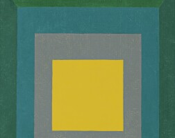 110. josef albers   study for homage to the square: apparition
