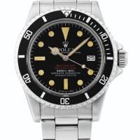 21. 勞力士(rolex) | 1665型號「'double red' sea-dweller」精鋼鍊帶腕錶備日期顯示,年份約1978。