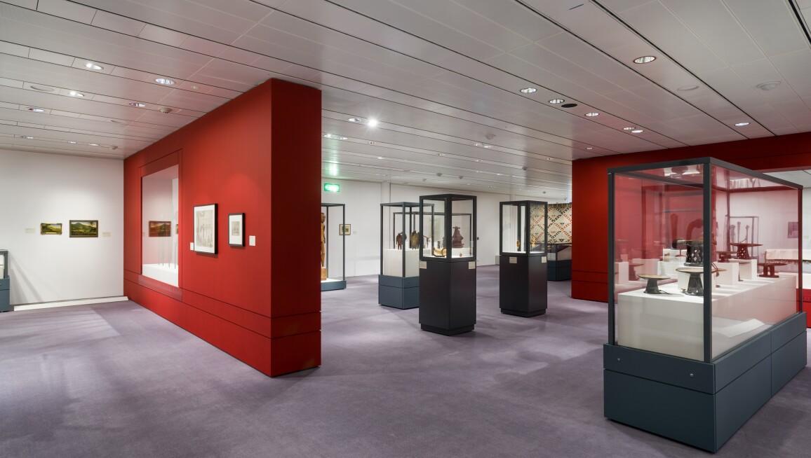 Interior, Sainsbury Centre for Visual Arts