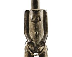 11. statue, baulé, côte d'ivoire |