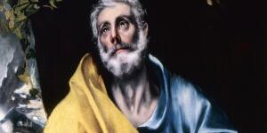 El Greco's Tears of St. Peter — A Saintly Portrait of Anguish and Atonement