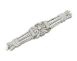 368. diamond bracelet, 1930s