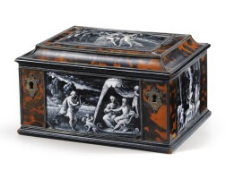 1. french, limoges, 16th centuryfour panels with scenes of the life of orpheus, |