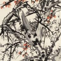 530. 蒲華 1834-1911 | 梅石雙清