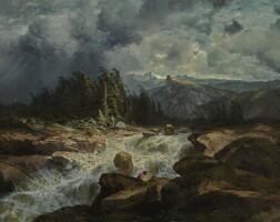 4. alexandre calame | torrent de montagne par orage