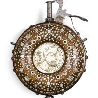 4. german, circa 1620-1650powder flask, |