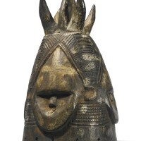 30. gola helmet mask, liberia