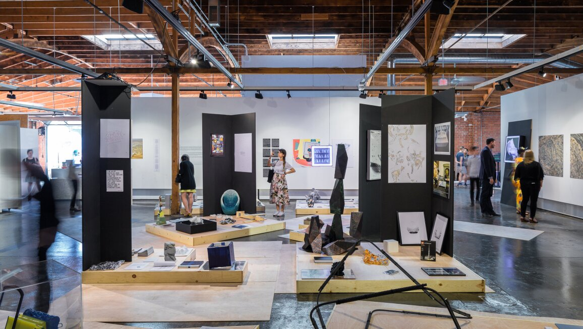 Exhibition view of Architecture. Image, Text & Object
