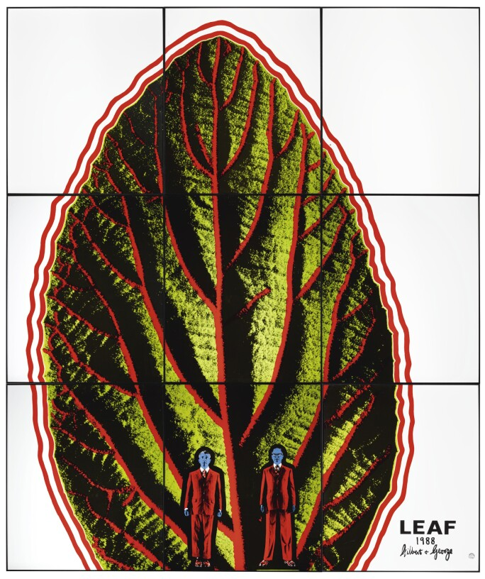 Gilbert & George, Leaf