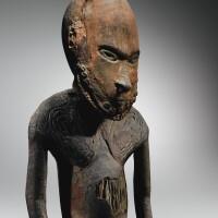 9. statue masculine, kopar, village de kopar, embouchure du sepik, papouasie nouvelle-guinée