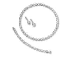 1306. diamond demi-parure
