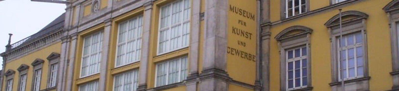 Exterior of the Museum für Kunst und Gewerbe, Hamburg