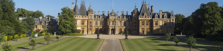 Exterior View, Waddesdon Manor