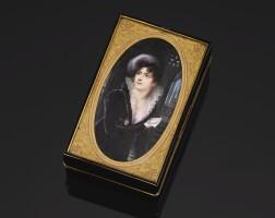 38. 玳瑁鑲黃金肖像鼻煙盒,皮埃爾·安德烈·蒙托邦製造,巴黎,1806-1809年 | 玳瑁鑲黃金肖像鼻煙盒,皮埃爾·安德烈·蒙托邦製造,巴黎,1806-1809年