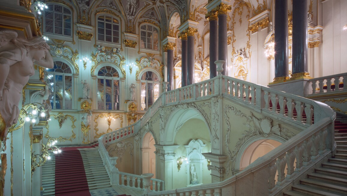 Interior View, State Hermitage Museum