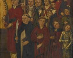 602. Swabian School, Late 15th Century
