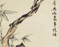 1210. 高其佩 1672-1732 | 高占枝頭